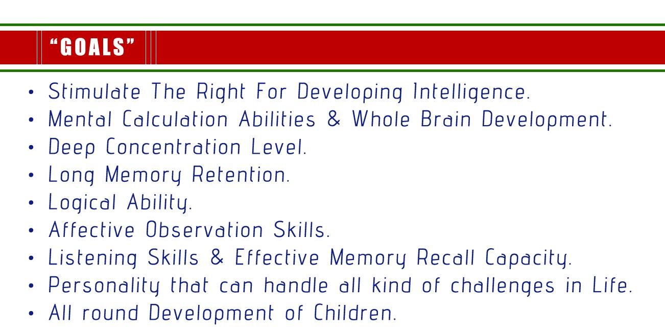 Abacus Brain Study - ICMAS
